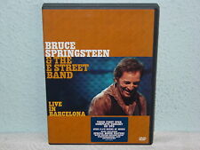 """*****DVD-BRUCE SPRINGSTEEN & THE E STREET BAND""""LIVE IN BARCELONA""""-2003 Sony*****"""