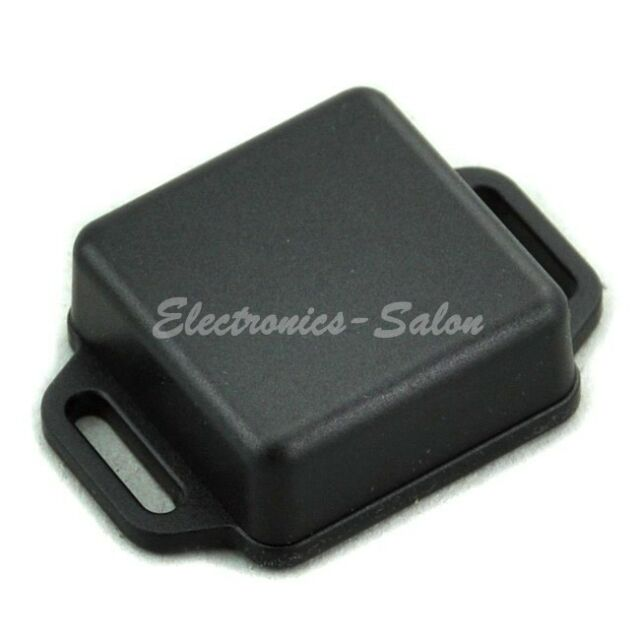 5PCS Small Wall-mounting Plastic Enclosure Box Case, Black, 36x36x15mm.