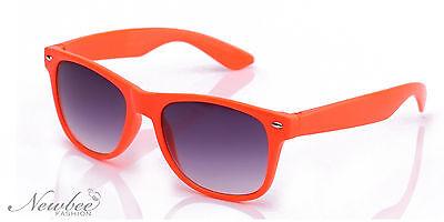 Wayfarer Style Sunglasses Rainbow Color Choices Purple Tint Lens Vintage Frame