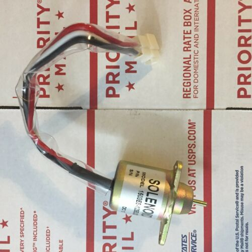 John Deere Fuel Shut Off Shutdown Solenoid 12V 1503ES-12S5UC5S,NEW M806808 FITS