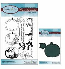 Bundle 2 Items Prickley Pear Cardinals Clear Stamp and Die Set # 1 CLR005 /& PPRS-D005