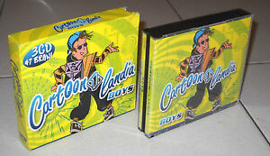 3-Cd-CARTOONLANDIA-BOYS-Italia-1-2005-OTTIMO-Cristina-D-Avena-Cartoni-Tv