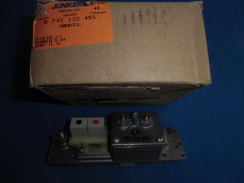 8745103455 für ZR//ZSR//ZWR..//-1 AN093-Junkers Oberteil Gasregelblock Nr