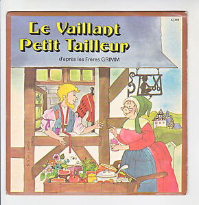 THE-VALIANT-SMALL-TAILOR-Vinyl-45T-7-034-GRIMM-Denise-CHABOT-Child-F-Reduced-RARE