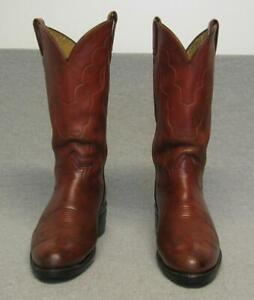 e3975e3640e Details about Vintage Tony Lama Western Cowboy Black & Gold Label Boots  Men's size 10B