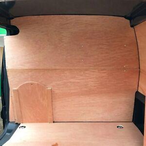 Citroen-Berlingo-Peugeot-Partner-2008-gt-Wooden-Bulkhead-Kit-With-Sliding-Hatch