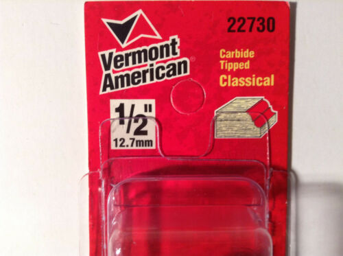 """Vermont American 22730 Carbide Tipped 1//2/"""" Clasical"""