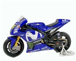 #46 Valentino Ross MOTOGP 2018 Yamaha YZR-M1 Motorcycle Bike Model i1:18 Maisto