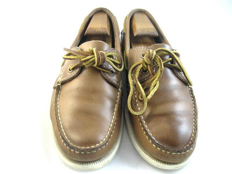 Allen Edmonds  MARITIME  Boat zapatos 9 D oroen marrón (586)
