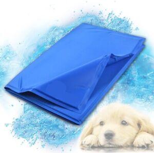 Pet Self Cooling Gel Mat Heat Summer Hot Weather Bed Pad Mats Dog /Cat Supplies