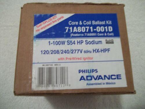 Philips Advance Core /& Ballast Kit 71A8071-001D