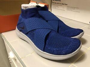 359bb77e96b43 Nike Free RN Motion FK 2017 Flyknit Binary Blue Men Running Size 10 ...