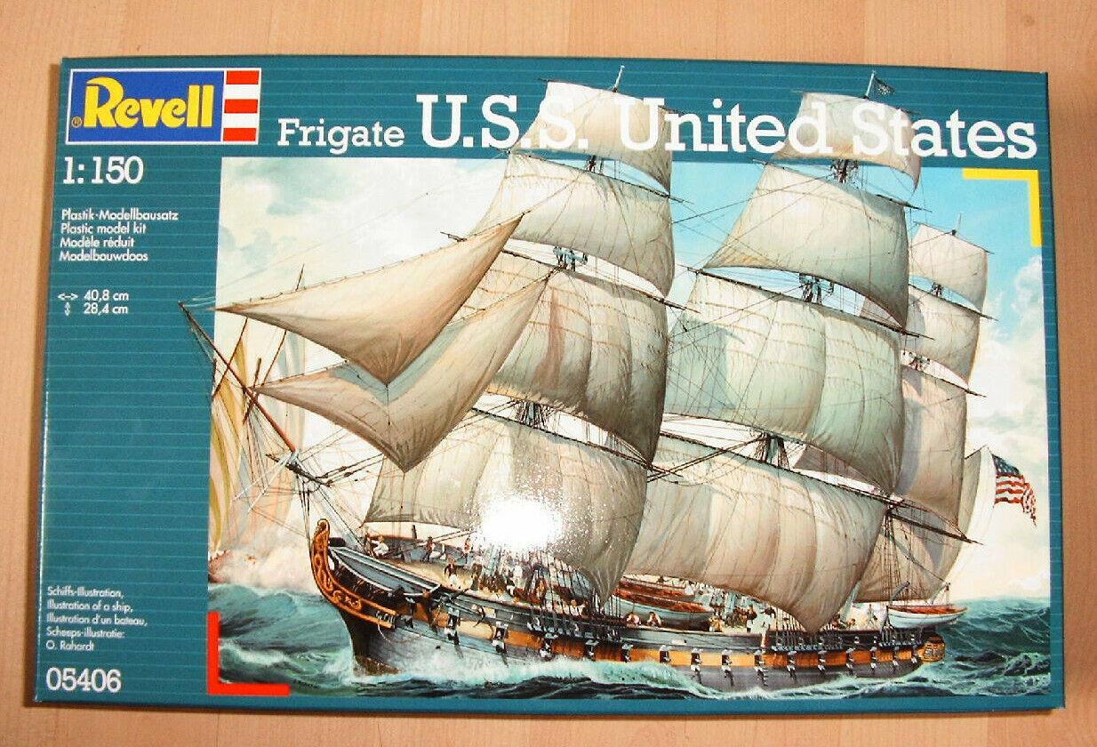 Revell 05406  Frigate  USS United States  Segelfregatte  1:150  NEU/&OVP