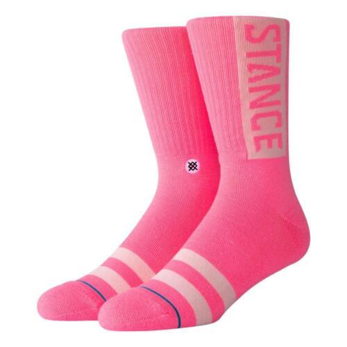 Haltung Neu Herren Og Socken Gesättigtes Pink Neu mit Etikett
