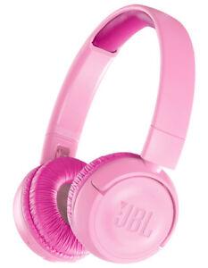 NEW JBL JR300 Kids Bluetooth On-Ear Headphones - Pink
