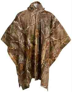 Onyx Outdoors PVC Poncho Realtree AP Camo CHOOSE YOUTH OR ADULT