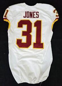 #31 Matt Jones of Washington Redskins NFL Locker Room Game Issued Jersey