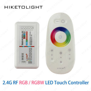 Dc 12v 24v Rgbw Rgb Led Wireless Controller 2.4g Rf Touch Screen Remote Control 6a Channel For Smd 5050 Led Strip Light Bulb Lights & Lighting Lighting Accessories