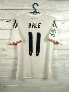 Bale Real Madrid Jersey Youth 13-14 y Shirt Adidas Football Soccer G81137