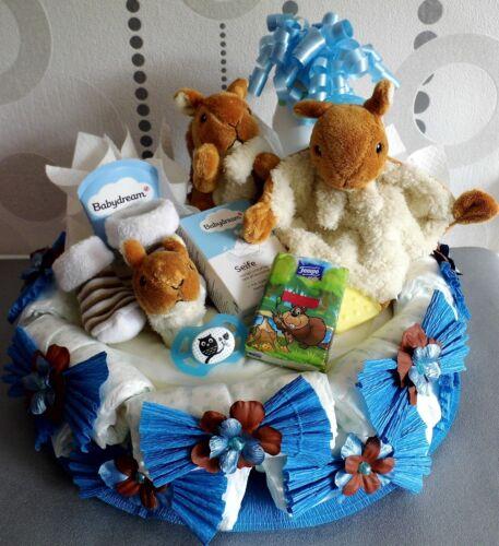 Geburtstag Windeltorten für Mädchen und Jungen Geschenk zur Geburt Taufe