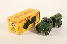 Dinky Toys 643, Army Water Tanker, Mint in Box                    #ab2008
