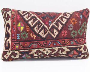 Kurdish Van region king size rug pillow cover,handwoven handmade vintage kilim pillow,home floor pillow,Couch pillow,bed pillow cover