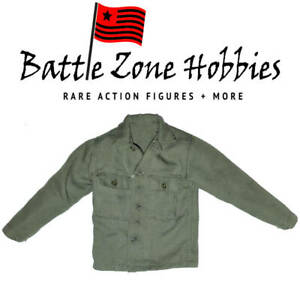 GREEN FROM PVT REIBEN 2nd RANGER A80141 DID 1//6 SCALE WWII AMERICAN SHIRT