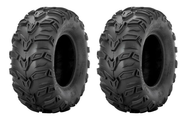 Set of 4 WANDA ATV tires 25x8-12 25x8x12 Front /& 26x10-12 26x10x12 Rear 6PR P373