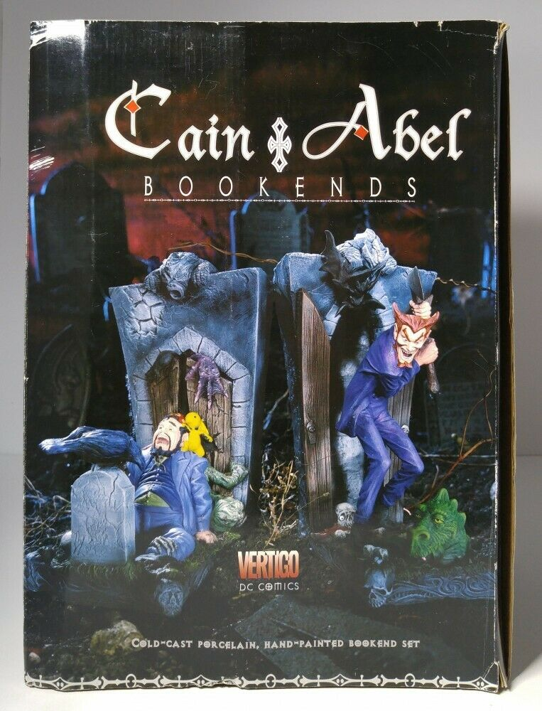 Grünigo Cain & Abel Bookends DC Direct Cold Cast Hand Painted 596 1200