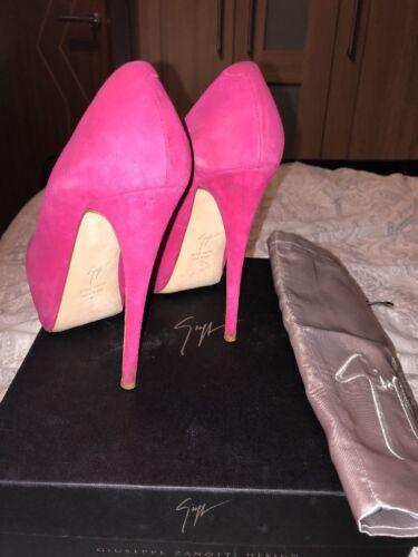 37 Peep Pink 4 Giuseppe Toe Zanotti Size Cerise Platform Sharon wXwz4Eq