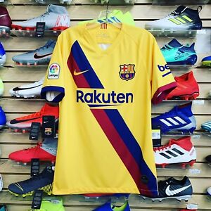 estafa Tableta sombrero  Nike Barcelona Away Jersey 19/20 Size XL 192498236983 | eBay
