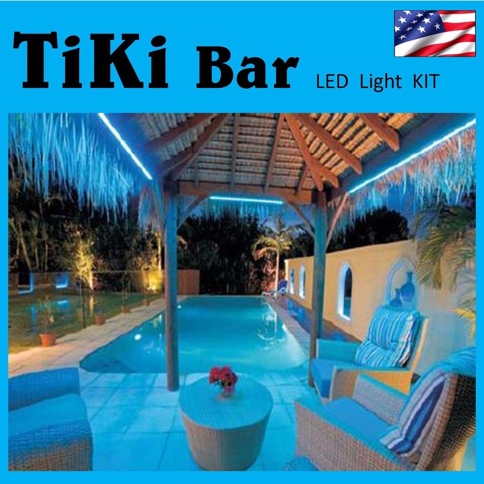 BEAUTIFUL Rainbow Farbe Changing Tiki Bar DECORATION lights - NEW deco