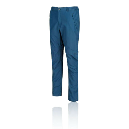 Regatta Herren Leesville Zip-Off Hose Outdoorhose Funktionshose Sporthose Blau
