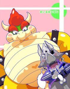 Doujinshi-Mario-Bowser-Estrella-Fox-Lobo-B5-22pages-Furry-Kemono-Mairu