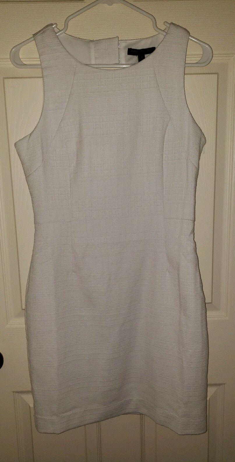 Banana republic Weiß Dress, Größe 4, NWT