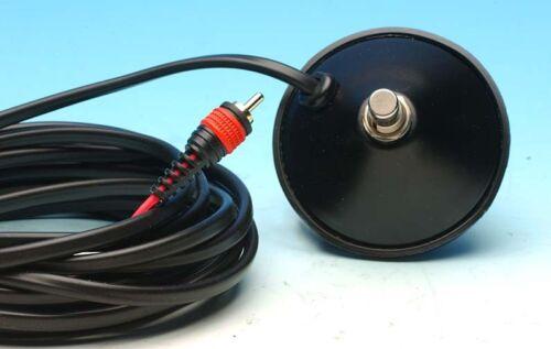 VINTAGE BLACK FOOTSWITCH FITS FENDER BLACKFACE//SILVERFACE AMPS 1 RCA PLUG PEDAL