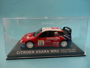 CITROEN-XSARA-WRC-19-CARLOS-SAINZ-1-RALLY-TURQUIA-2003-1-43-NUEVO-IXO-ALTAYA