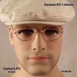 AO-SADDLE-BRIDGE-True-Antique-Eyeglasses-amp-authentic-AO-premium-Case