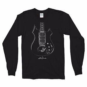Grateful Dead Steal_Steal Your Face_Jerry Garcia Guitar Long sleeve T-shirt