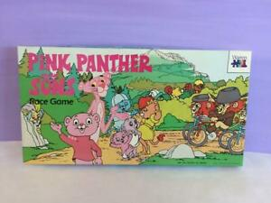 Pink-Panther-and-Sons-Race-Game-Board-Game-1980s-Children-039-s-Game-Family-Game