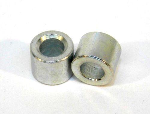 ZINC STEEL SPACER UNTHREADED 1//4 L X 5//32 ID X 5//16 OD #8 HOLE 25 HF