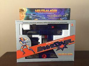 1986 Mattel Rare Brave Starr Neutra-laser Marque nouvelle usine scellée!   Belle !!