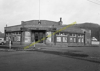 Colyford Seaton Railway Station Photo 22 Colyton and Seaton Junction Line.
