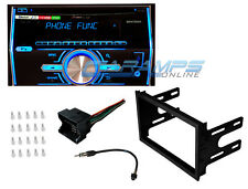 VW PIONEER DOUBLE 2 DIN BLUETOOTH CAR STEREO RADIO W/ COMPLETE INSTALLATION KIT