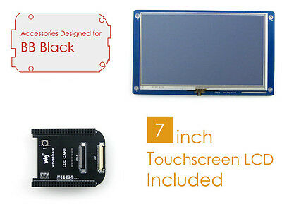 BeagleBone Black BB Black Accessories Pack D Include LCD Cape 7inch LCD (no BBB)