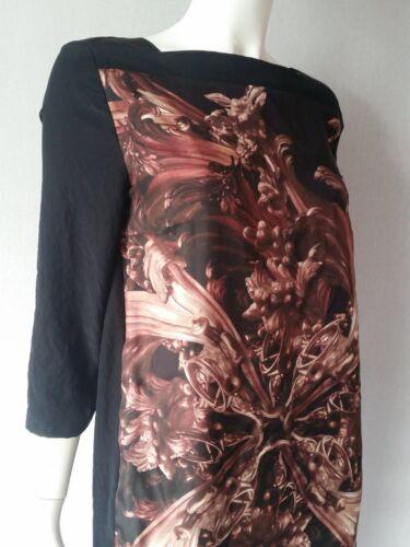 Taglia 38 toni Cerano nuovo nei 12gb marrone Silk Luisa del Dress nPqxgWd0