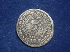 VI ( 6 ) Kreuzer 1733 Prag Karl VI - RDR W/16/45/A