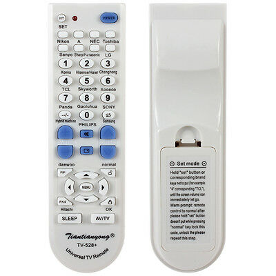 Portable Universal TV Remote Controller for SONY / SHARP / SAMSUNGetc