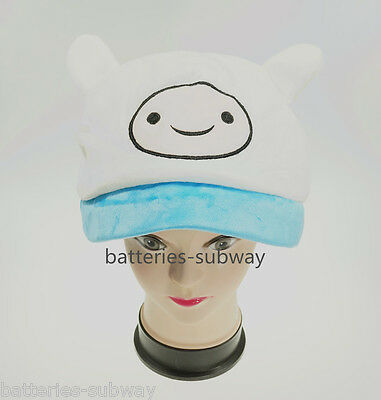 New Adventure Time with Finn Adult Plush Warm Hat Cap Beanie Costume Cosplay