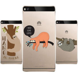 Sloth-Phone-Case-Soft-TPU-Silicone-Case-Cover-For-iPhone-samsung-and-Huawei